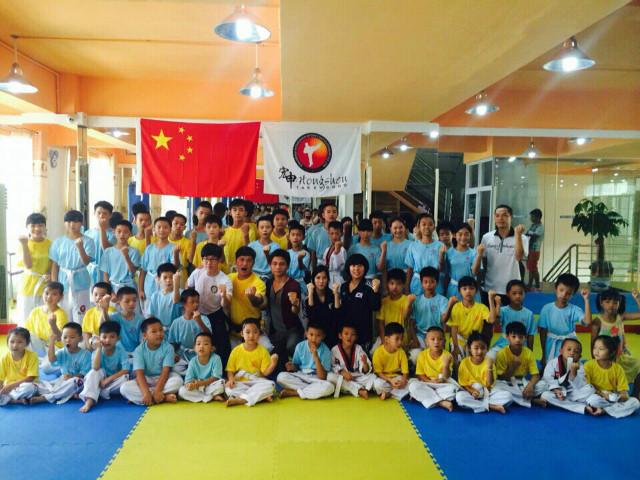 2014년 중국 파견