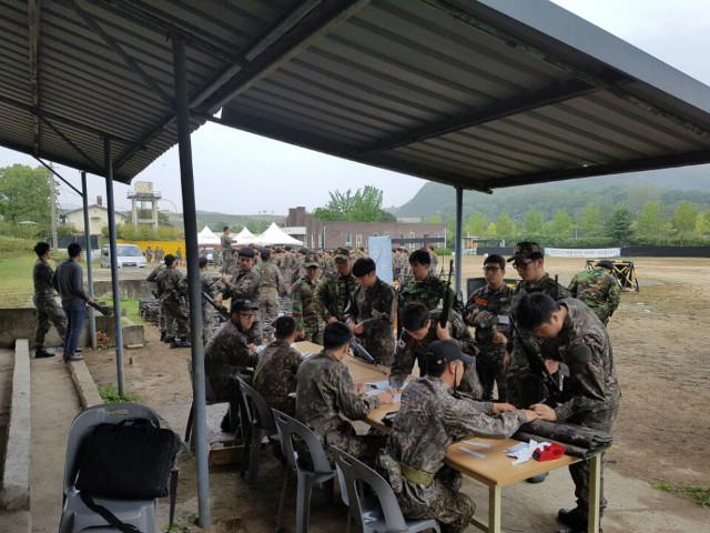 2016학년도 향방기본훈련(학생예비군훈련)