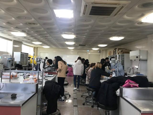 화장품 제조 및 실습 시간