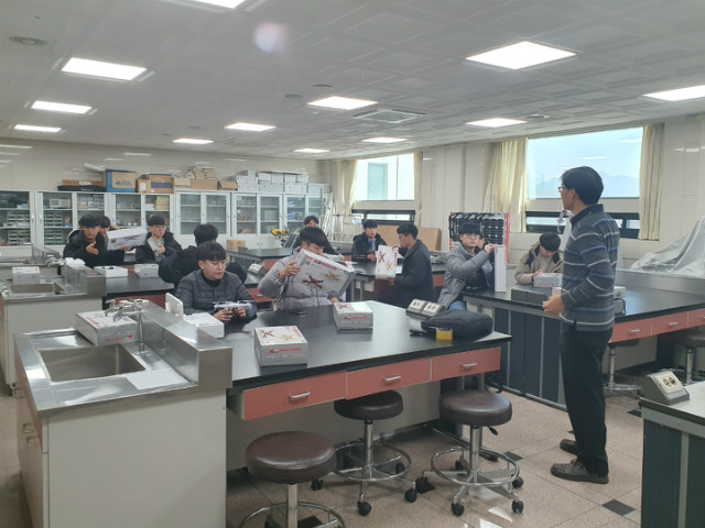 중원대, 2019년 지역선도대학 육성사업 '공공서비스ICT트랙'프로그램 드론운용 교육과정